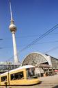 Fernsehturm Berlin seen from Alexanderplatz - FOLF00943