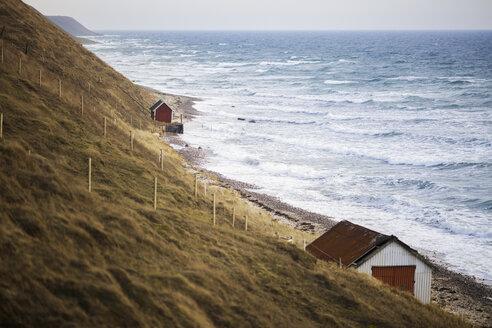 Houses along coastline by sea - FOLF01048