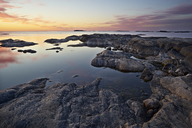Rocky coastline at sunset - FOLF02522