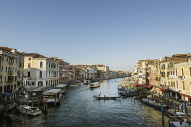 Canal in Venice with gondolas and boats - FOLF02888