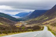 United Kingdom, Scotland, Highland, Glen Docherty Valley, A832 road, Loch Maree - WDF04491