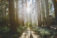 Man hiking at Taft Point Trail - FOLF03627