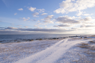 Snow on beach - FOLF04059
