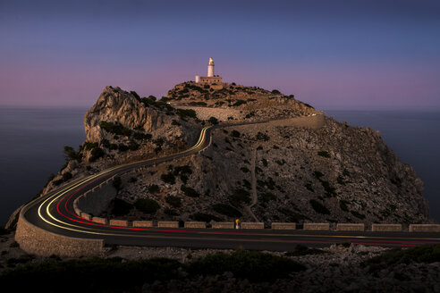 Lighthouse on edge of cliff at Cap Formentor - FOLF04362