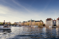 Old town waterfront in Stockholm with boats - FOLF04392