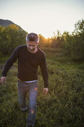 Man outdoors in the countryside - FOLF04797