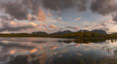 Lake during sunset in Abisko, Sweden - FOLF05193
