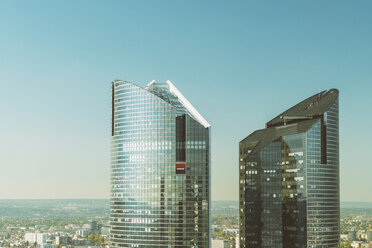 France, Paris, two high-rise buildings at La Defense - TAM01004