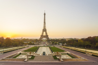 France, Paris, Eiffel Tower at twilight - TAMF01007