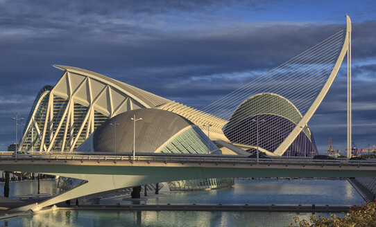 Spain, Valencia, L'Hemisferic, El Museu de les Ciencies Principe Felipe, L'Àgora - OLE00062