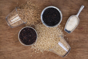 Various sorts of rice and rice flour - EVGF03344