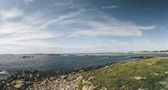 France, Brittany, Landeda, Dunes de Sainte-Marguerite, coastal landscape - GUSF00592