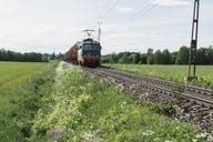 Train by a field in Sweden - FOLF06282