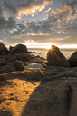 Rocks by the sea at sunset - FOLF06393