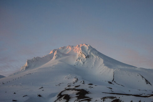 Tranquil view of Mt. Hood against sky - CAVF32311