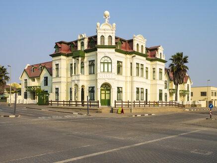 Africa, Namibia, Swakopmund, Hohenzollern house - RJ00775