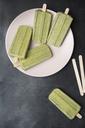 Homemade avocado lime popsicles - SKCF00386