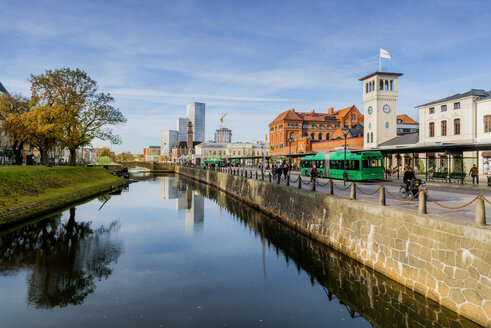River by Central station in Malmo - FOLF06767