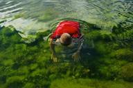 Man relaxing in Baltic Sea in summer - FOLF06785