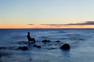 Tourist relaxing in Baltic Sea - FOLF06788