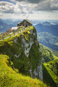 Austria, Salzkammergut, View from Mountain Schafberg - AI00462