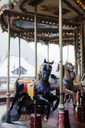 Carousel in villagein France - FOLF07886