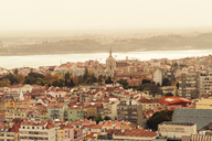 Portugal, Lisbon, view to the city from above - TAMF01010