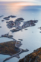 Norway, Lofoten Islands, Henningsvaer and evening light - WVF00997