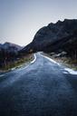 Norway, Lofoten Islands, empty country road - WVF01076