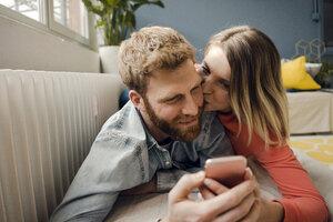 Happy couple at home - KNSF03728