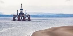 Scotland, Fife, Firth of Forth, old oil platform - WDF04584