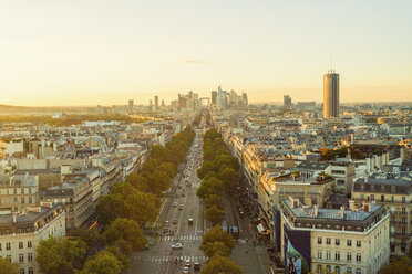 France, Paris, view to the city with La Defense in the background - TAMF01033