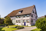 Germany, Hoeri, Gaienhofen, view to Hesse Museum - WD04588