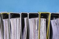 Folder shelfs in a row - CMF00794