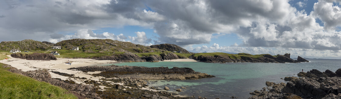 United Kingdom, Scotland, Sutherland, Assynt, Clachtoll, Beach at Bay Clachtoll - LBF01884