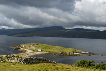 United Kingdom, Scotland, Highland, Sutherland, peninsula Ard Neakie, Loch Eriboll - LBF01896
