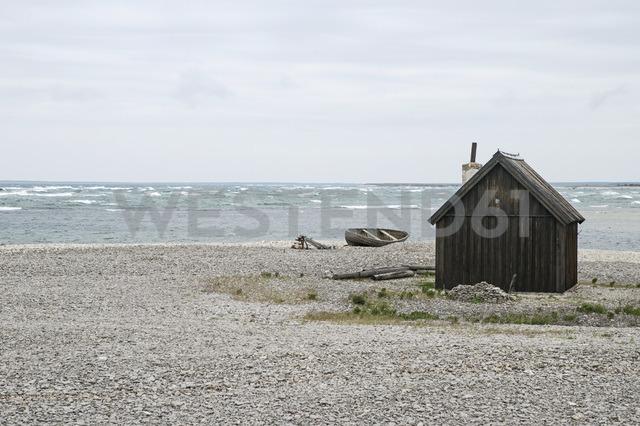 Wooden cabin on beach - MASF03796