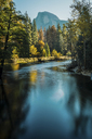 Scenic view of river flowing at Yosemite National Park - CAVF40934