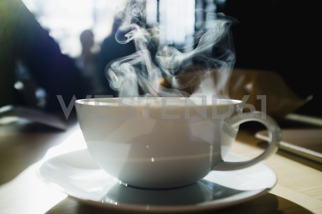 Coffee cup with steam coming out - MASF05844