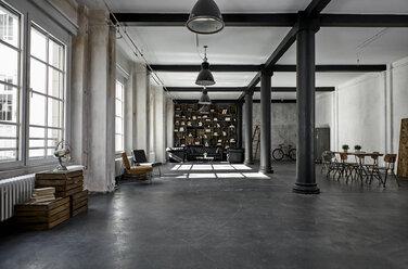 Interior of a loft flat - PDF01576