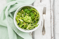 Zoodels with avocado basil pesto - LVF06898