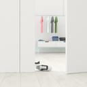 Cloakroom behind ajar door, 3d rendering - UWF01402