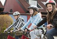 Three friends biking 3 - MASF06931