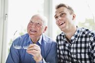 Happy elderly man and guy - MASF07042
