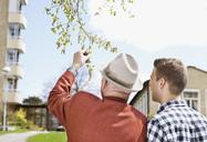 Man and senior outside - MASF07045