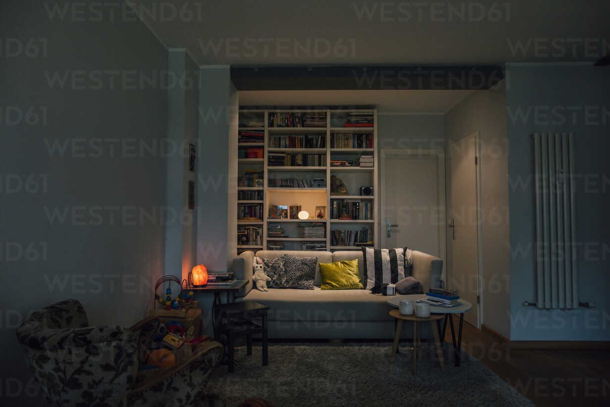 Couch in cozy living room - GUSF00667 - Gustafsson/Westend61