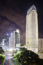 China, Guangzhou, cityscape at night - SPP00013