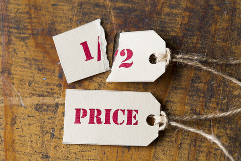 Sale tags, half-price - ZEF15392