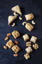 Baklava and nuts on dark ground - CSF29105