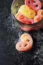 Sugar Pretzels in glass - CSF29132